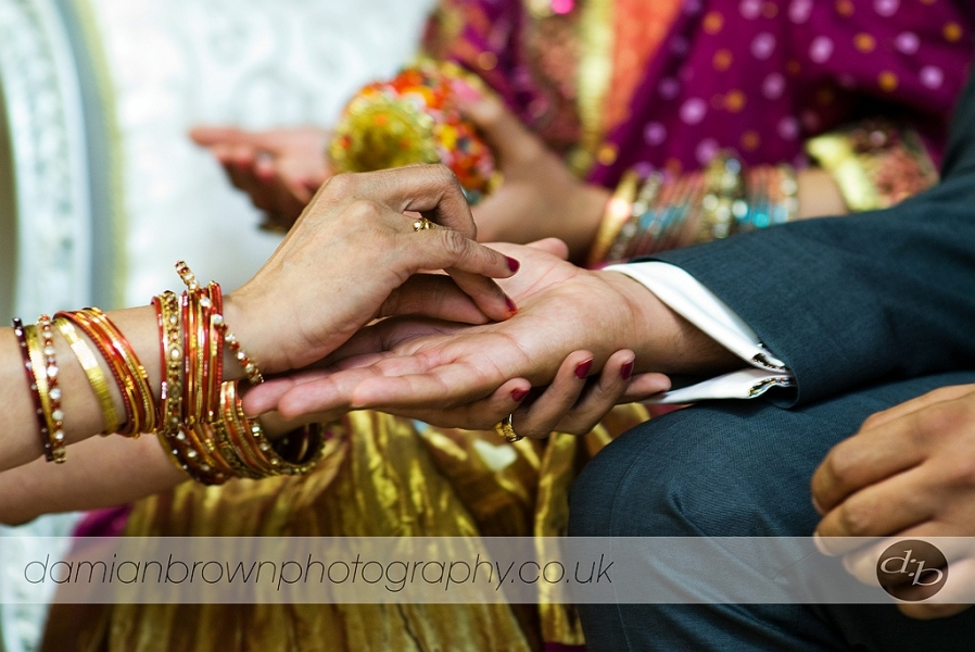 Hindu Engagement Photography