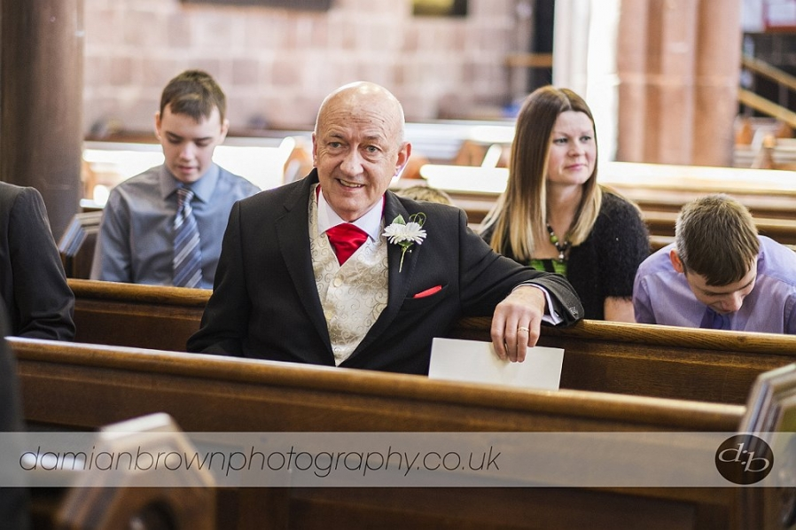 birmingham wedding photographer nantwich wedding photography father of the groom