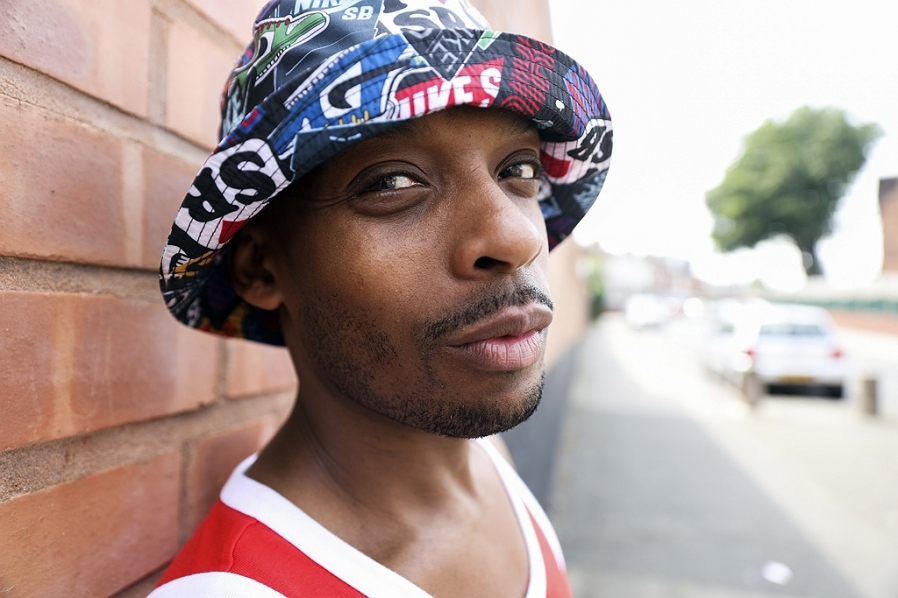 birmingham portrait photography hip hop musician mad flow damian brown photography blog